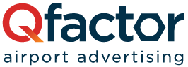 Qfactor Airport Advertising